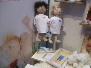 Erwin und Rosi der kleine Patient