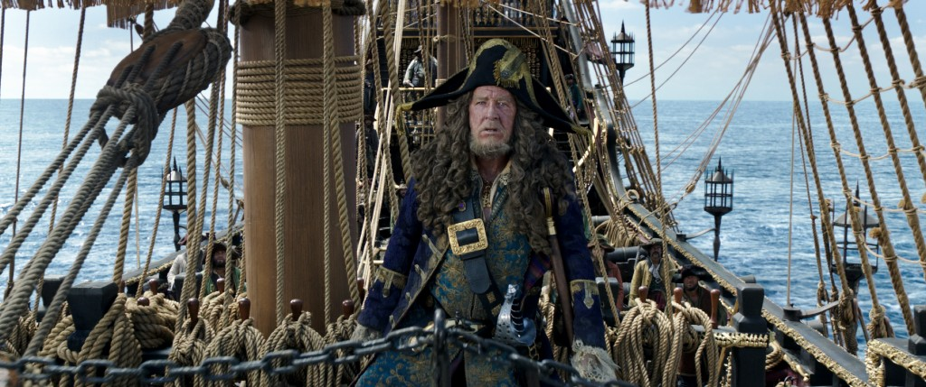 Captain Barbossa (Geoffrey Rush) Copyright: Disney 2017